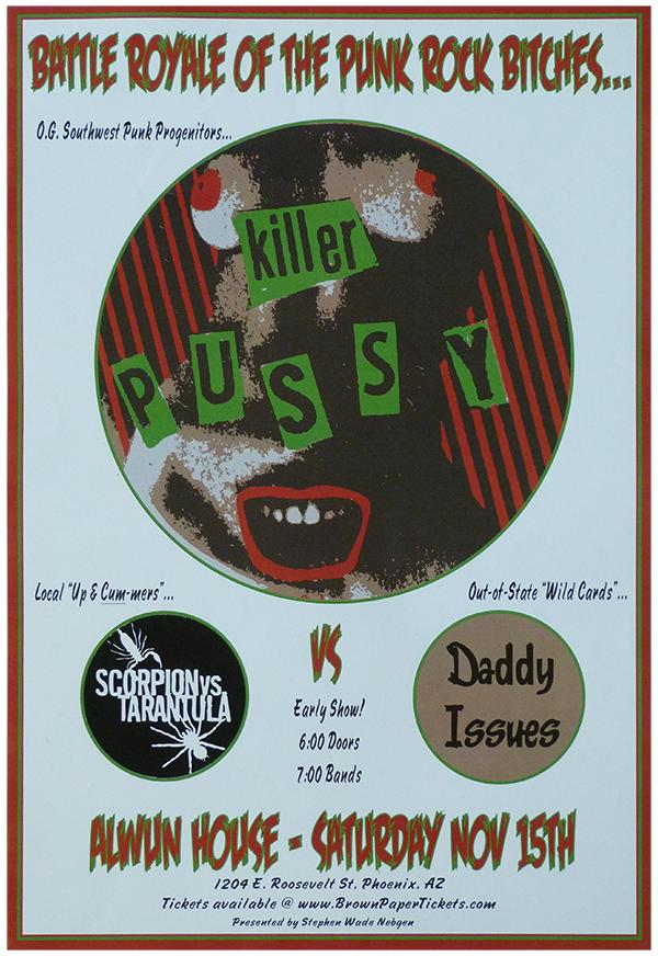 Killer Pussy Band Royale Revenge Poster for Sale